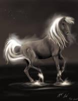 Horse ? by CharlotteKiil