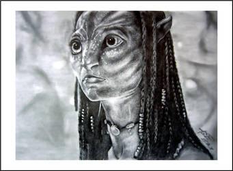 Avatar-Neytiri by silv3rsia