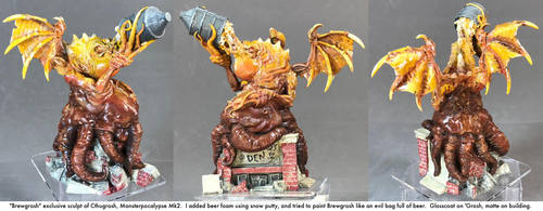 Monsterpocalypse: Brewgrosh by dvandom