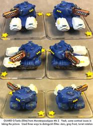 Monsterpocalypse: Elite G-Tanks by dvandom
