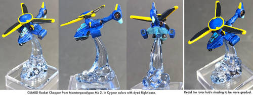 Monsterpocalypse: Rocket Chopper by dvandom