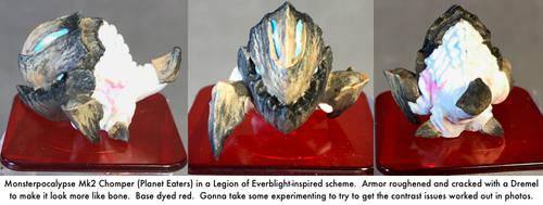 Monsterpocalypse: Chomper by dvandom