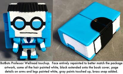 Professor Wellread by dvandom