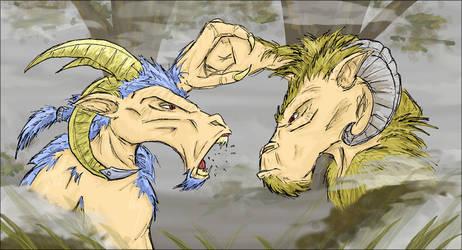 Beastman dispute by zoggin-eck