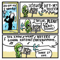 SSI #9 - Haters Gonna Shake It Off by MinkWinsor