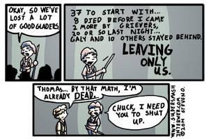 #8 - 10-3-2014 - Maze Math by MinkWinsor