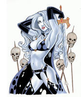 Lady Death Skulls by Tarzman