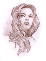 Portrait Study 1 by Tarzman