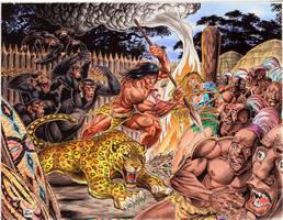 The Beasts of Tarzan by Tarzman