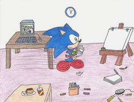 OHS:Hurry Sonic! by cobaltcandi