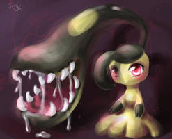 Miss Mawile by WineChan