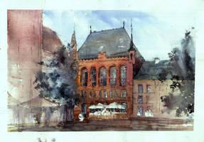 Artus Court, Torun, Poland by onverra