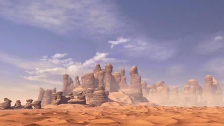 Desert Rocks by xmas-kitty