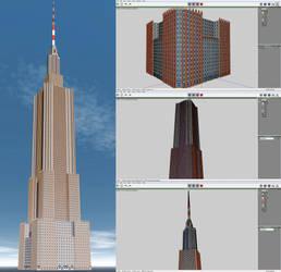 Wings3d Skyscraper by xmas-kitty