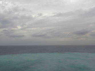 water and sky by 1boredcanadian