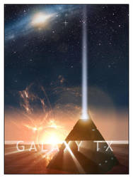 Galaxy TX Poster by bloederbauer