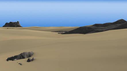 Desert by bloederbauer