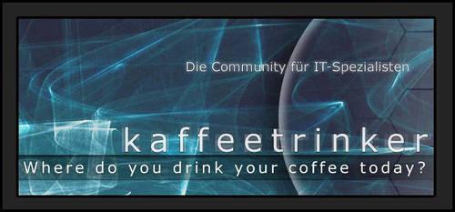 Kaffeetrinker.org Splashpage by bloederbauer