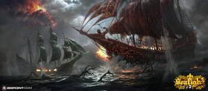 Ship battle by 88grzes