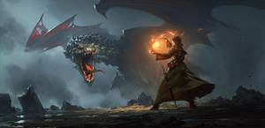 Dragon Cave by 88grzes