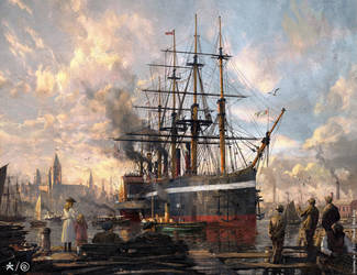 ANNO 1800 by 88grzes