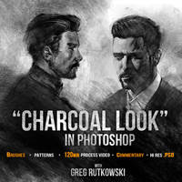 Charcoal look - tutorial by 88grzes
