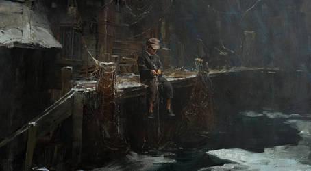 Fisherman's boy by 88grzes