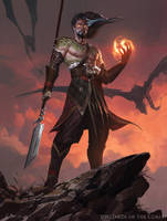 Sarkhan, Fireblood - Magic the Gathering by 88grzes