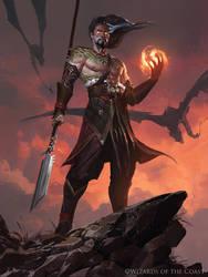 Sarkhan, Fireblood - Magic the Gathering by 88grzes