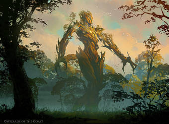 Avatar of Growth - Magic the Gathering by 88grzes