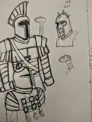 Warriors of Mars by Neo-Castilian35