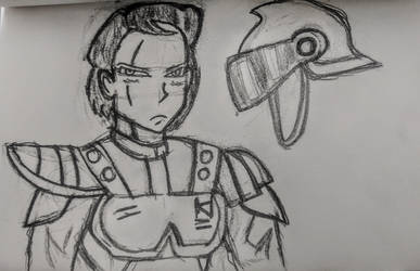 Earth Soldier Janet by Neo-Castilian35