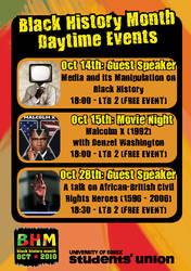 Black History Month Flyer by mapgie