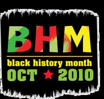 Black History Month Logo by mapgie