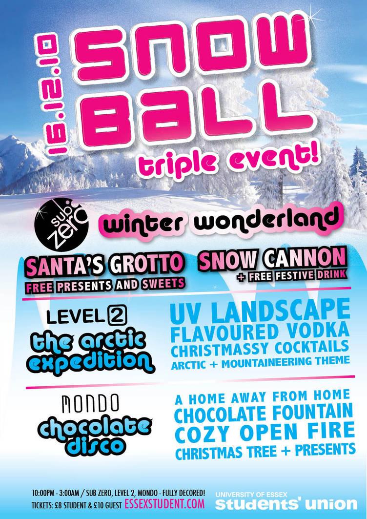 Snow Ball by mapgie