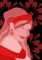 Red Lady by mapgie