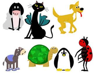 Animals 2 by mapgie