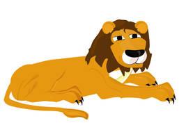Lion by mapgie