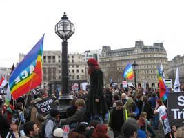 Street protest by mapgie