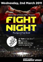 Fight Night by mapgie