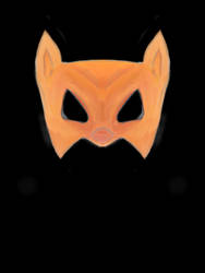 Fox mask by mapgie