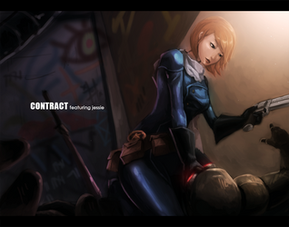 Contract entry by kirogi-dog
