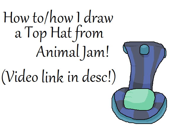 Image of: Wiki How To Draw Top Hat animal Jam By Liannakai Findclip How To Draw Top Hat animal Jam By Liannakai On Deviantart