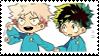 young Bakugou And Izuku   stamp by SHOUTDANNY