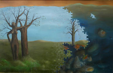 The Three Trees by BenjaminJoseph