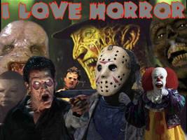 I love horror by vinfacom