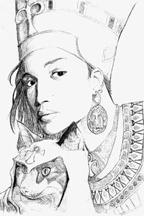 Egyptian goddess by ucf-animator