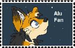 Alu Fan Stamp by Red-Moon-Wolf