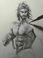 Drawing Carlnes by aenaluck