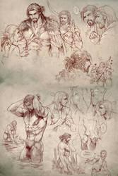 Master and Carlnes by aenaluck